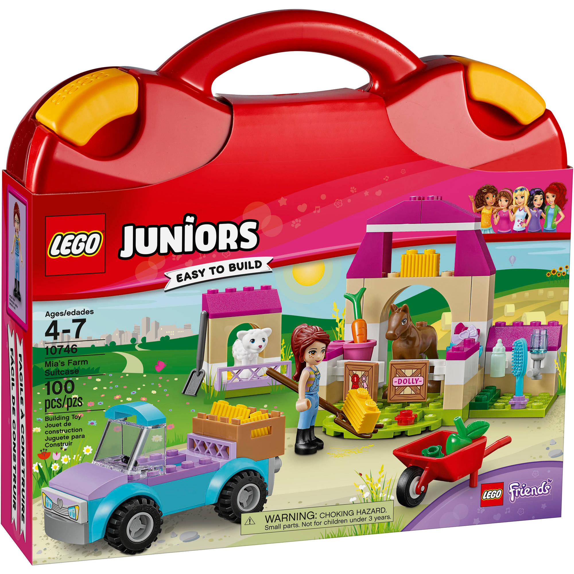 Lego Juniors Mia's Farm Suitcase 10746 by LEGO Systems Inc