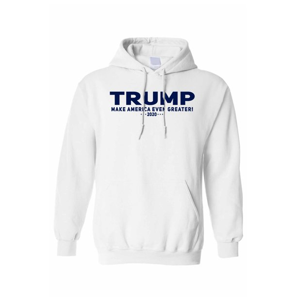 Unisex Trump Make America Even Greater Pullover Hoodie