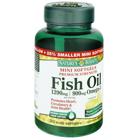Nature 39 s bounty omega 3 fish oil 90 ct pack of 3 for Where does fish oil come from