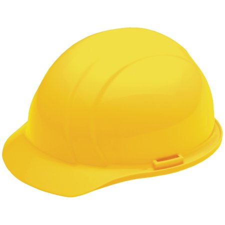 Americana Mega Ratchet Cap Style Hard Hat, Yellow