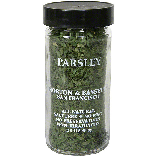 Morton & Bassett Spices Parsley, .28 oz (Pack of 3)