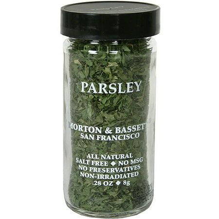 Morton & Bassett Spices Parsley, .28 oz (Pack of 3)