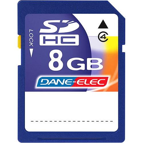 Dane-Elec 8GB SDHC Memory Card
