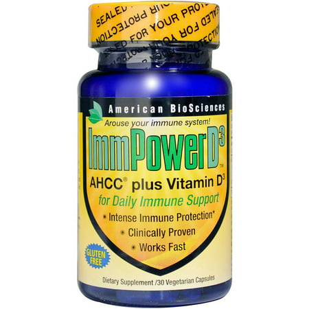 American Bioscience Immpower D3 Vegetable Capsules  30 Ct