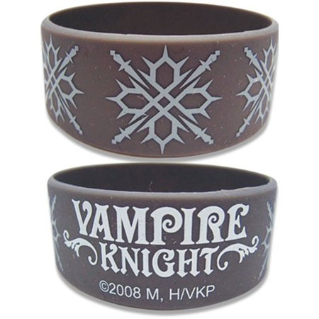 Vampire Knight Men's  Zero Tattoo Anime Wristband (Vampire Knight Phone Charm)