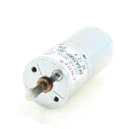 Shifter Motor (4mmx11mm Shaft Cylinder Gear Motor 150 RPM 12V DC f Auto Shutter)