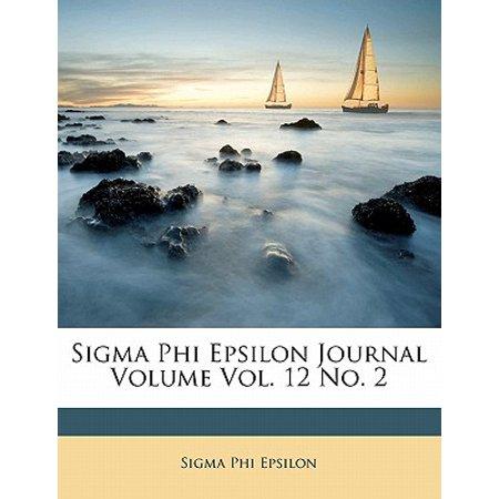 SIGMA Phi Epsilon Journal Volume 12, No. 2 ()