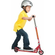 Disney Cars Huffy Inline Folding Kick Scooter, Red