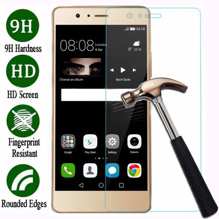 Girl12Queen 9H Tempered Glass Film Screen Protector Cover Guard for Huawei Mate 8 P8 P9 P10](huawei p10 plus screen protector)