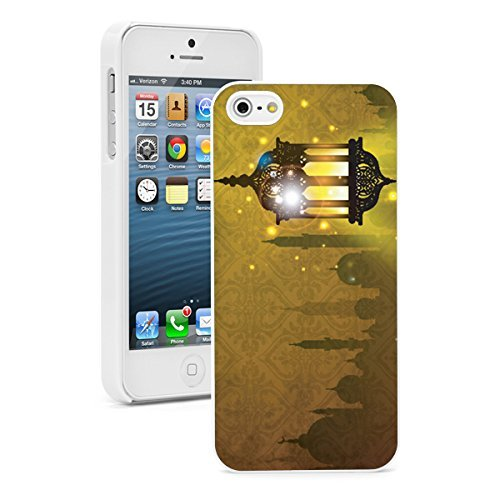 Apple iPhone (6 Plus   6s Plus) Hard Back Case Cover Arabic Lantern Lamp with...