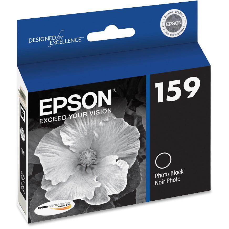 Epson UltraChrome 159 Original Ink Cartridge, 1 Each (Quantity) by Epson