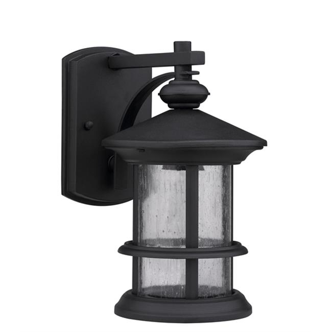 Chloe CH20152BK13-OD1 Lighting Ashley Superiora Transitional 1 Light Black Outdoor Wall Sconce - Textured Black - image 1 de 1