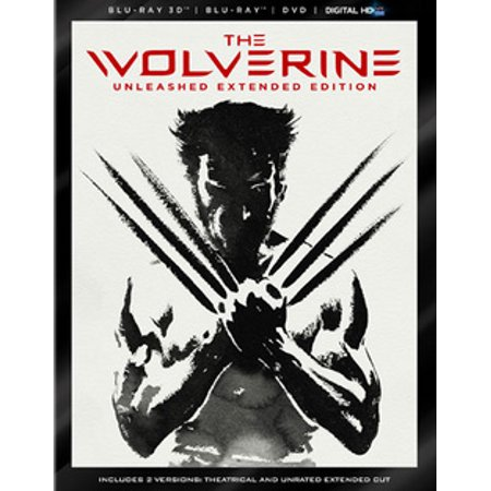 The Wolverine (3D Blu-ray + Blu-ray + DVD + Digital HD)