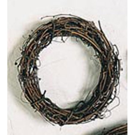 Grapevine Wreath 8 In -