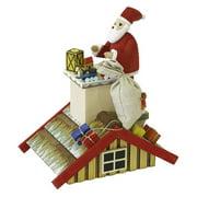 Richard Glaesser Incense Burner with Santa on Roof