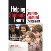 Helping Students Learn in a Learner-Centered Environment - eBook