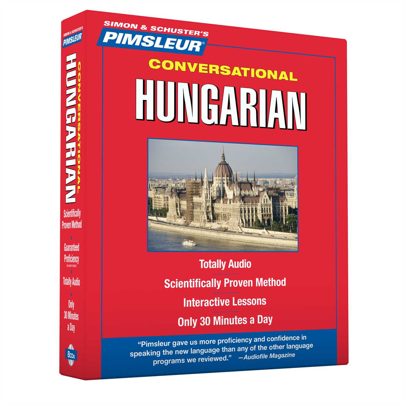 Pimsleur Hungarian Conversational Course - Level 1 Lessons 1-16 CD : Learn to Speak and Understand Hungarian with Pimsleur Language Programs