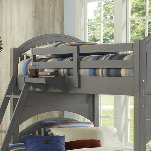 Harriet Bee Javin Twin Over Full Bunk Bed Guard Rails Walmart Com