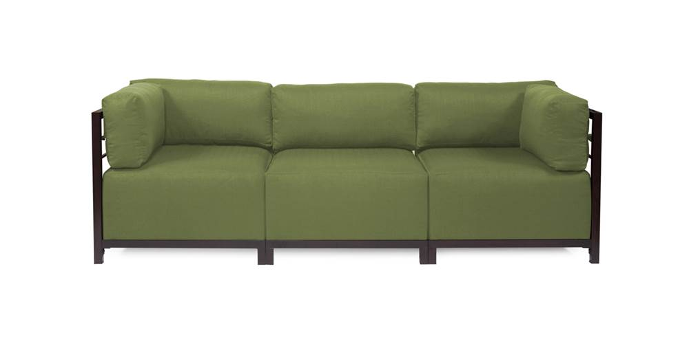 3-Pc Sectional in Moss by Howard Elliott Collection