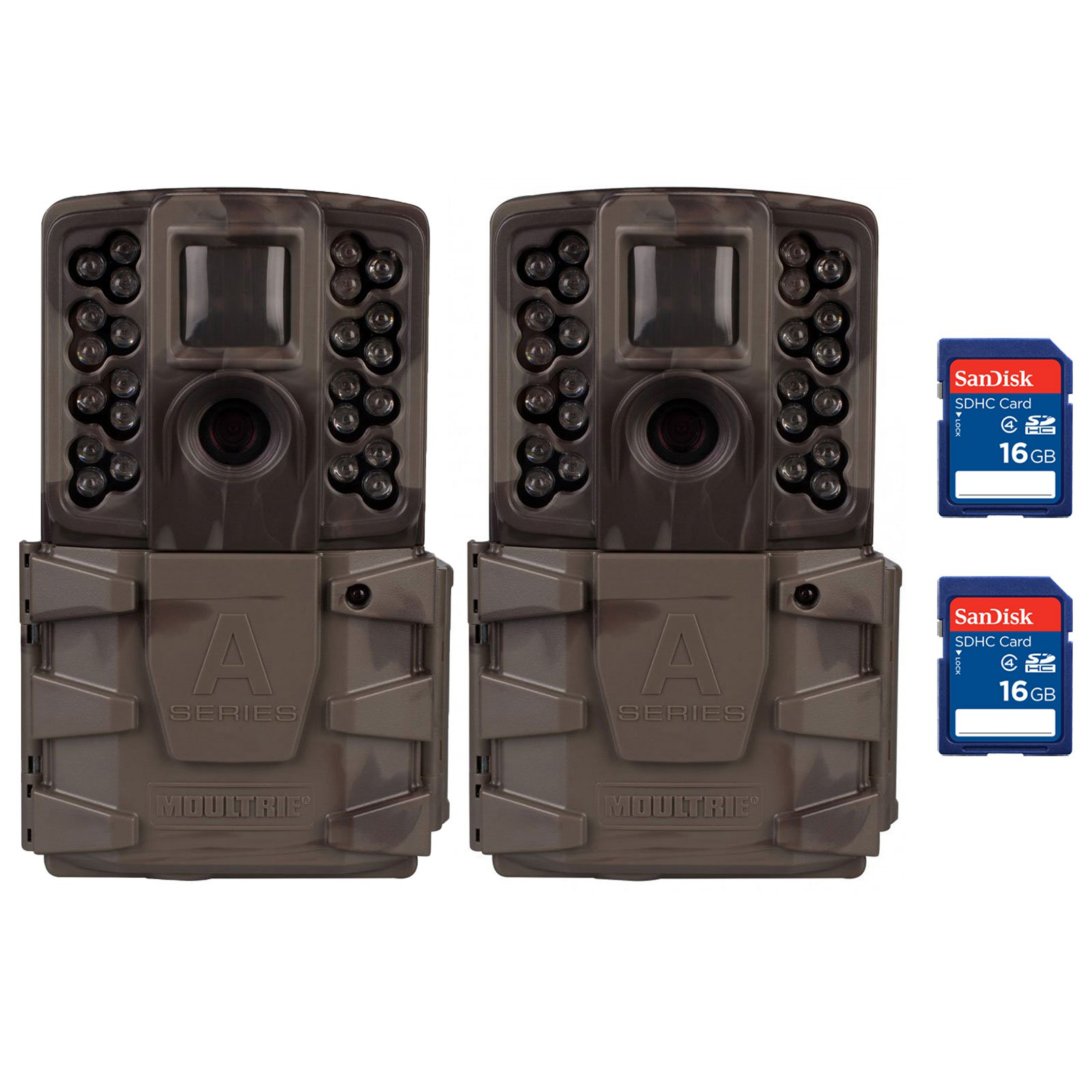 Moultrie A-40 Pro 14MP Low Glow Infrared Game Trail Camera with SD Card (2 Pack) - image 9 of 9