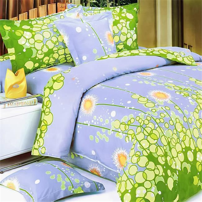 Dandelion Dream Luxury 6 Piece Twin Mega Comforter Set Combo 300GSM