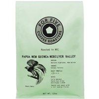 For Five Papua New Guinea Whole Bean 12 oz