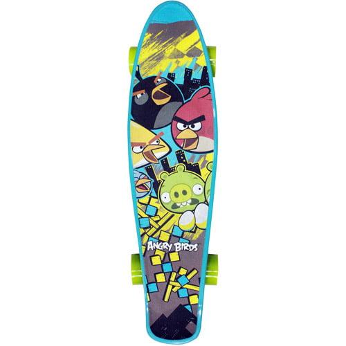 "Street Flyers Angry Birds 22"" Mini Cruiser Skateboard"