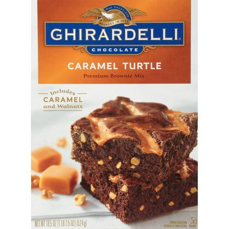 Ghirardelli Chocolate Caramel Turtle Brownie Mix, 18.5 oz
