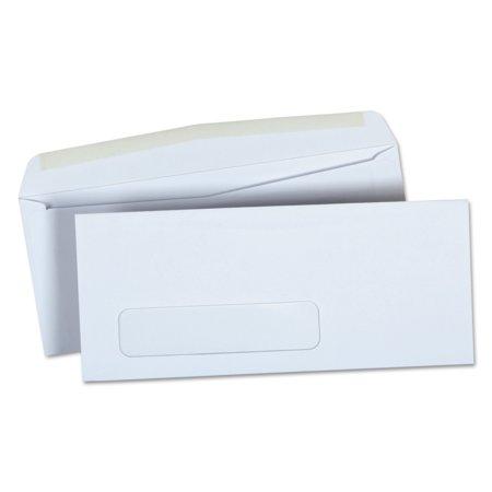Universal Window Business Envelope, #9, 3 7/8 x 8 7/8, White, 500/Box