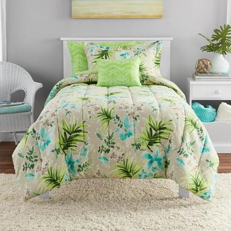 Mainstays Martinque Bed-in-a-Bag Bedding Set