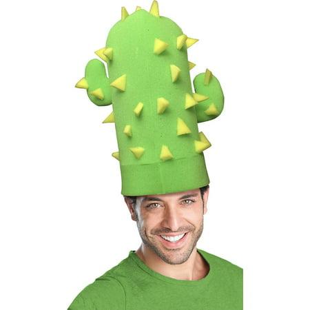 Green Goblin Adult Costume (Green Cactus Adult Foam Costume Hat - One)