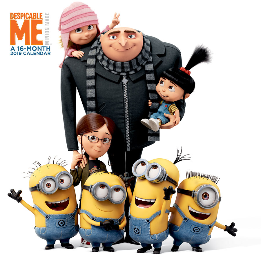 2019 Despicable Me Wall Calendar by Trends International