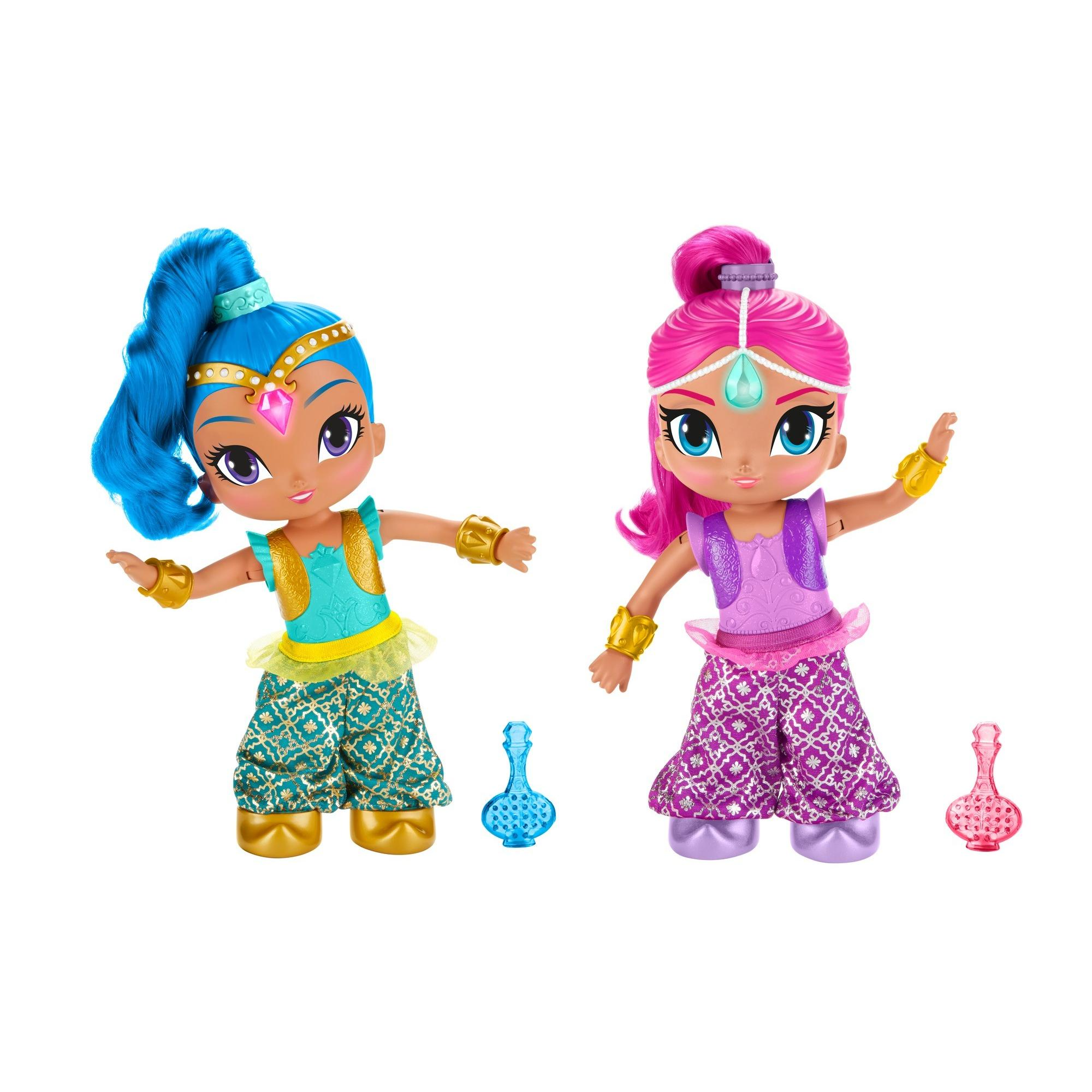 Shimmer And Shine Genie Dance 2 Pack Walmart Inventory