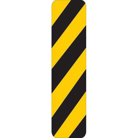Brady 80101 24 X 6In Traffic Sign  Black Yellow