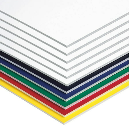Pacon® Foam Board, Assorted Colors, 20