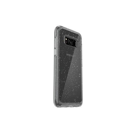 OtterBox SYMMETRY CLEAR, Galaxy S8 - STARDUST (SILVER