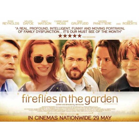 Fireflies The Movie (Fireflies in the Garden Movie Poster (11 x)