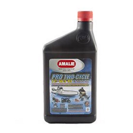 Amalie pro two cycle 2 stroke oil 1 qt case of 12 p n 160 for How to get motor oil out of jeans