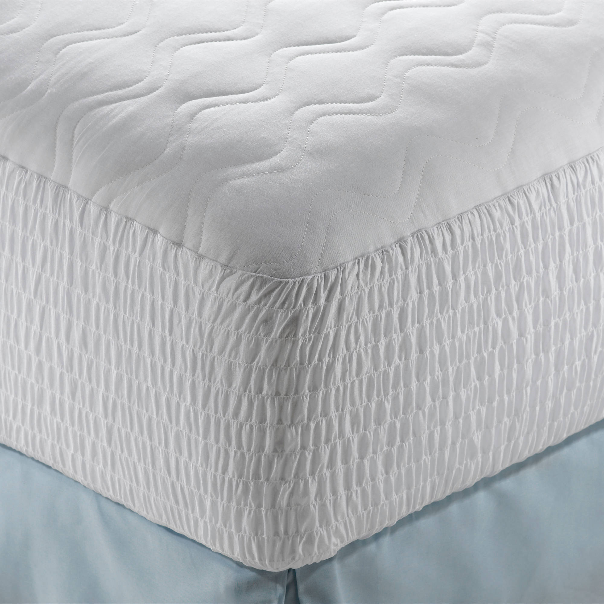 DeepSleep Cotton Cover Mattress Pad in Multiple Sizes