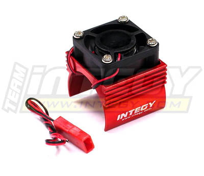 Integy RC Toy Model Hop-ups C23141RED Super Brushless Motor Heatsink+Cooling Fan 1 16... by Integy