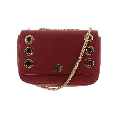 2f75b7516254 INC Womens Korra Faux Leather Grommet Crossbody Handbag - Walmart.com
