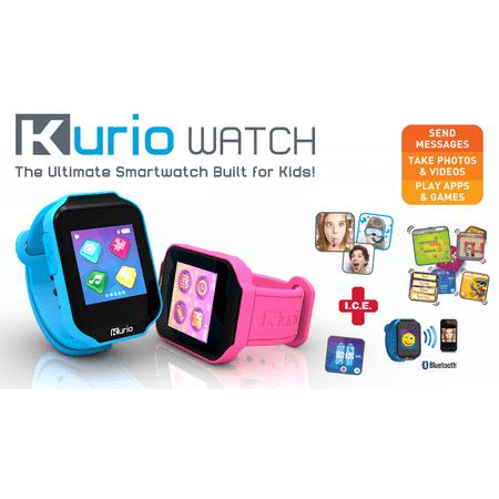 Kurio Smart Bluetooth Watch with Messaging, Apps, Games