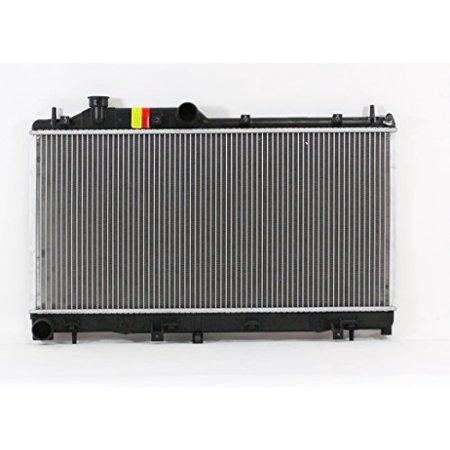 Radiator - Pacific Best Inc For/Fit 13093 08-08 Subaru Impreza WRX STI Manual Transmission Plastic Tank Aluminum
