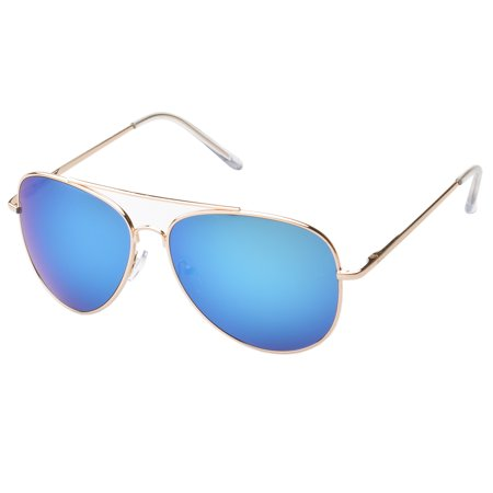 MLC Eyewear 'Knoxville Double Bridge Aviator Fashion Sunglasses in (Boss Orange Aviator Sunglasses)