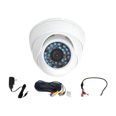 VideoSecu Vandal-proof IR Day Night Vision Security Camera 1/3