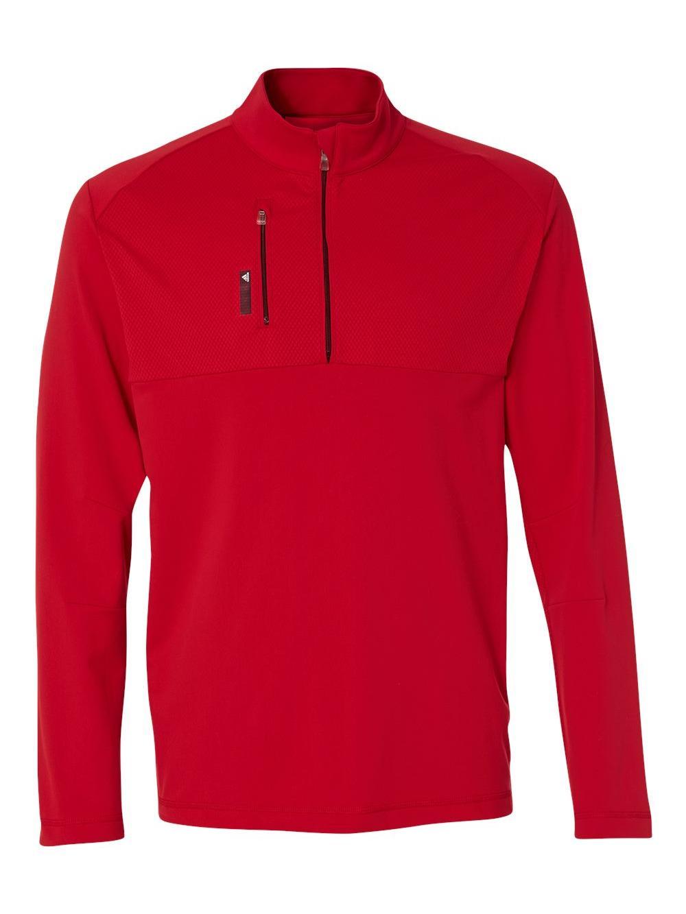 adidas Golf Men's puremotion™ Mixed Media Quarter-Zip