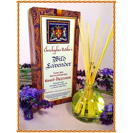 Christopher Radko's Hudson Organics Wild Lavender Organic Essential Oil .33oz.