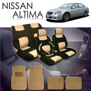 2000 2001 2002 2003 2004 Nissan Altima Seat Covers Floor Mats Set ALL FEES INCLUDED