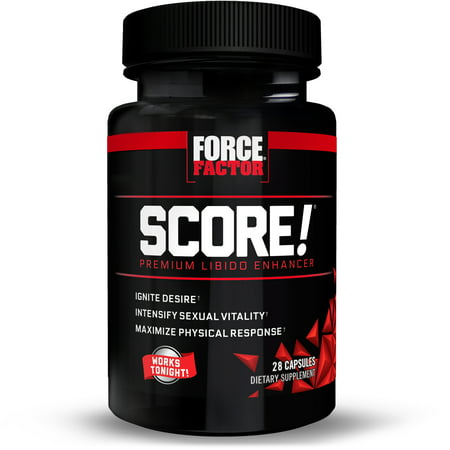 Force Factor SCORE! Libido Enhancer Capsules, 28