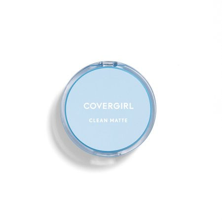 COVERGIRL Clean Matte Pressed Powder Foundation, 510 Classic (Best Drugstore Powder Foundation For Oily Skin)